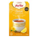 Yogi Tea Detox Dandelion - Sidruniga puhastav tee - 17tk