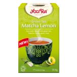Yogi Tea Green Tea Matcha Lemon - Sidruniga Matcha roheline tee - 17tk