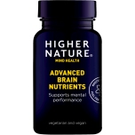 Higher Nature Advanced Brain Nutrients - Aju toitained 30tbl - toidulisand