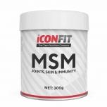 Iconfit MSM - liigesed, immuunsus, väävel, nahk, psoriaas, põletikud - 300g - toidulisand