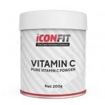Iconfit C vitamiini pulber - immuunsus, süda, vereringe, viirused, liigesed - 200gr - toidulisand