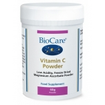 BioCare C vitamiin  pulber - madala happesusega, viirused, immuunsus - 60gr - toidulisand