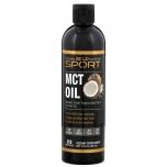 California Gold Nutrition Sport MCT Oil - puhas MCT kookosõli, triglütseriid - 355ml - toidulisand