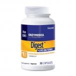 Enzymedica Digest + Live Bacteria - seedeensüümid ja bakterid - 30tbl - toidulisand