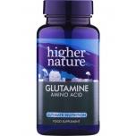 Higher Nature Glutamine - glutamiin, aminohape, soolestik - 90tbl - toidulisand