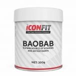 Iconfit Baobab pulber - C vitamiinid, raud, mineraalid, immuunsüsteem - 300gr - uuendtoit