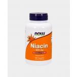 Now Foods Niacin 500mg - Niatsiin, B 3 vitamiin - 100tbl - toidulisand