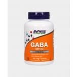 Now Foods Gaba 500mg - gamma-aminovõihape, rahustav, parem uni - 100tbl - toidulisand