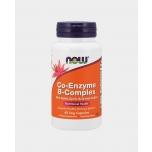 Now Foods Co Enzyme B complex - Koensüüm koos B-kompleksiga, energia, vererakkude sünteesimine - 60tbl - toidulisand