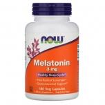 Now Foods Melatoniin - parem uni 3mg - 180tbl - toidulisand