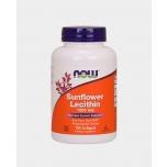 Now Foods Sunflower Lecithin - Päevalille letsitiin 1200mg, ainevahetus, kolesterool, seedimine - 100tbl - toidulisand