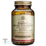 Solgar Ester C Plus 500mg - C vitamiin, liigesed, immuunsus, kollageeni tootmine - 100tbl - toidulisand