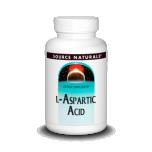 Source Naturals L-Aspartic Acid - L-aspargiinhape , energia, aju töö - 100g - toidulisand