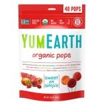 YumEarth Organic Lollipops - Puuviljamaitselised mahedad pulgakommid - 40tk