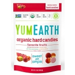 YumEarth Organic hard candies - Puuviljamaitselised mahedad karamellid – 93,5g