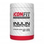 Iconfit Inulin - Inuliin, kiudaine, prebiootik, soolestik, puhastus, veresuhkur - 400gr - toidulisand