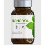 Living You Tulsi - ajurveda, stress, peavalu, külmetus, seedimine, põletik - 60tbl - toidulisand