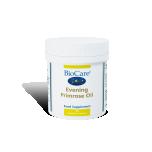 Biocare Evening Primrose oil - Kuningakepiõli, E vitamiin, omega, naistele, juuksed, küüned, nahk - 30tbl - toidulisand