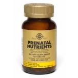 Solgar Prenatal Nutrients - rasedate kompleks, rinnaga toitvale emale, maovähendusoperatsiooni järgselt, kurnatus - 60tbl - toidulisand
