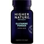 Higher Nature Glutamine Powder - glutamiin pulber, aminohape, soolestik - 100g - toidulisand