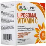 Sunlipid Liposomal Vitamin C - Liposoomne C vitamiin, energia, viirused, liigesed - 30pk - toidulisand