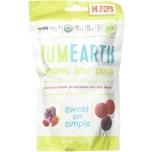 YumEarth Organic Sour Lollipops - magushapud mahedad pulgakommid 14tk