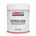 Iconfit Spirulina pulber - energia, B grupi vitamiinid, raud ja mineraalid, klorofüll - 250g - toidulisand