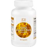 Licorice Root - Lagritsa juur, mao kaitse, lümfiringe, hingamine, suhkrute tasakaal - 100tbl - toidulisand