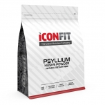 Iconfit Psyllium Husks Powder - psülliumi kestade pulber, kiudaine, seedimine - 800g - toidulisand