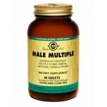 Solgar Male Multiple - Kompleksvitamiin meestele - 60tabl - toidulisand